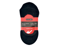 Image of product Invisible Ladies' Socks, 3 units, Black