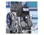 Fauteuil roulant avec repose-jambes élévateur- 45-7 cm (18 po)