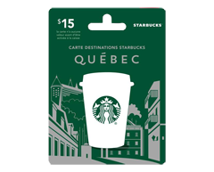 Image of product $15 Starbucks Gift Card, 1 unit