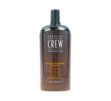 Image of product American Crew - Daily Moisturizing Shampoo, 1 L