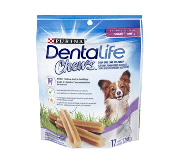 DentaLife Chews Daily Dental Dog Snack for Small Dogs, 248 g