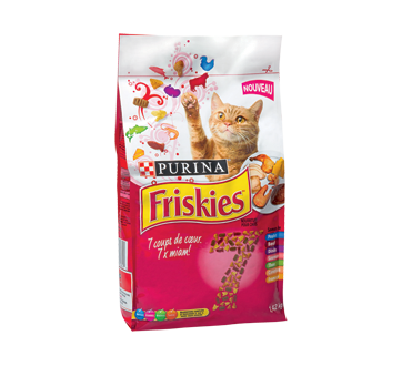 Friskies 7 Favourites Nutrition for Adult Cats, 1.42 kg