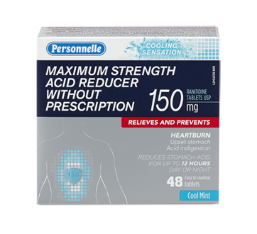 Image of product Personnelle - Acid Reducer, 48 units, Cool Mint