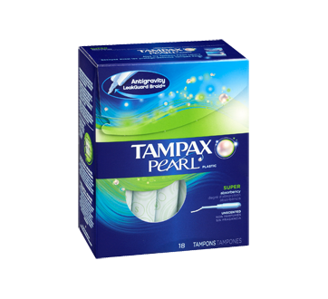 Image 2 of product Tampax - Pearl - Super Unscented, 18 units