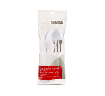 Plastic Cutlery, 24 units