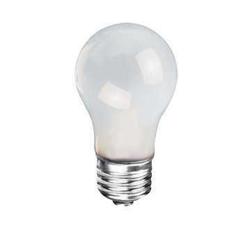 Light Bulb, 1 unit, Frosted