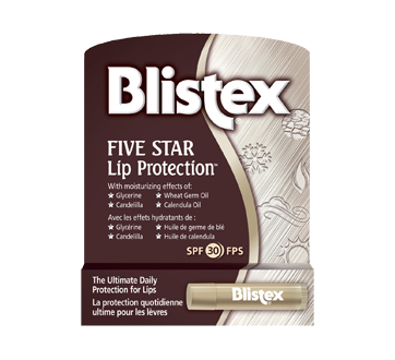 Five Star Lip Protectant with sun protectant, 4.25 g