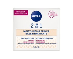 Image of product Nivea - 2-in-1 Moisturizing Primer, 50 ml, Dry Skin