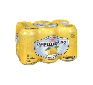 Image 2 of product San Pellegrino - Lemon, 6 x 330 ml