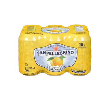 Image 3 of product San Pellegrino - Lemon, 6 x 330 ml
