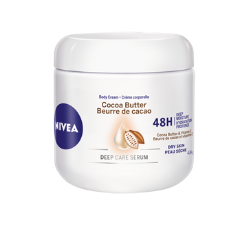 Image of product Nivea - Cocoa Butter Body Cream, 439 g