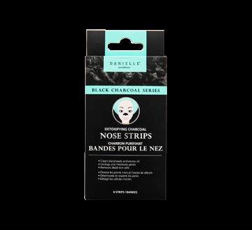 Black Charcoal Nose Bands, 8 units