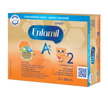 Enfamil A+ 2 Concentrate, 12 x 385 ml