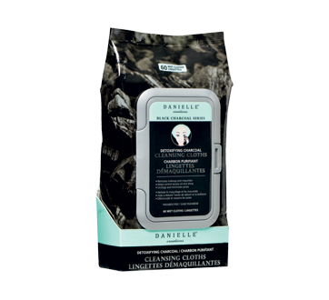 Black Charcoal Cleansing Wipes, 60 units