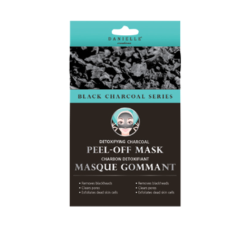 Image of product Danielle - Black Charcoal Peel-off Gel Mask, 4 units
