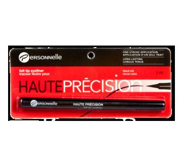 Image 2 of product Personnelle Cosmetics - Précision Felt Tip Eyeliner, 1 ml Carbone Black