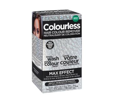 Image of product Colourless - Max Effect Hair Colour Remover, 1 unit