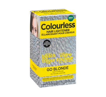 colourless hair colour remover instructions