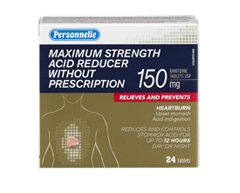 Image of product Personnelle - Maximum Strength Acid Reducer Without Prescription, 24 units