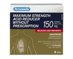 Image of product Personnelle - Maximum Strength Acid Reducer Without Prescription, 8 tablets