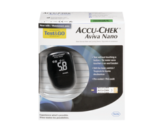 Image of product Accu-Chek - Aviva Nano Blood Glucose Meter and Lancing Device, 1 unit