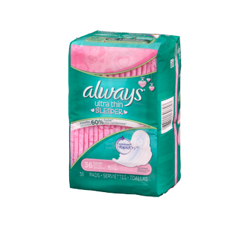 Image 2 of product Always - Ultra Thin Slender Pads, 36 units
