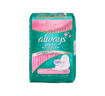 Image 4 of product Always - Ultra Thin Slender Pads, 36 units