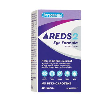 Image of product Personnelle - Areds 2 Eye Formula with Lutein, 60 units