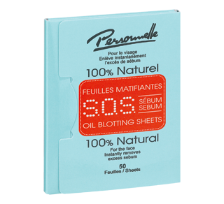 S.O.S. Sebum Oil Blotting Sheets, 50 units