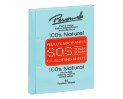 Image of product Personnelle Cosmetics - S.O.S. Sebum Oil Blotting Sheets, 50 units
