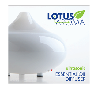 Ultrasonic Essential Oil Diffuser, 1 unit