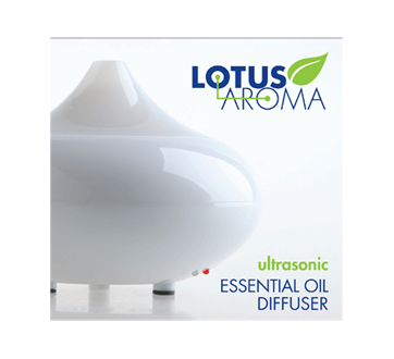Image 1 of product Lotus Aroma - Ultrasonic Essential Oil Diffuser, 1 unit