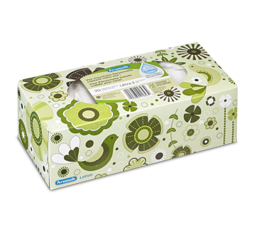 White Tissues with Lotion, 70 units