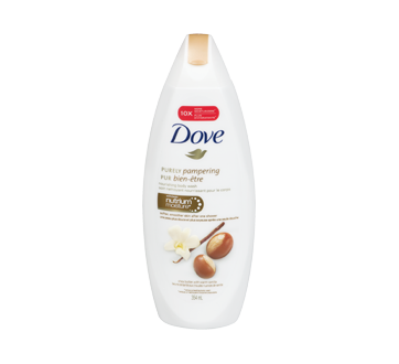 Purely Pampering Body Wash 354 Ml Shea Butter With Warm Vanilla Scent Dove Body Care Jean Coutu