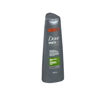Image 2 of product Dove Men + Care - Fresh Clean Fortifying Shampoo + Conditioner, 355 ml