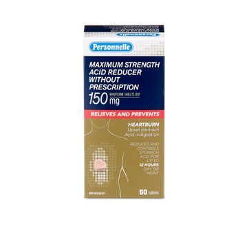 Image of product Personnelle - Maximum Strength Acid Reducer without Prescription, 50 units