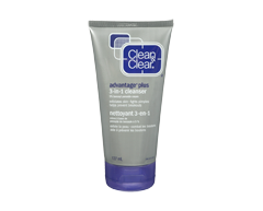 Image of product Clean & Clear - Advantage Plus 3-in-1 Cleanser, 127 ml
