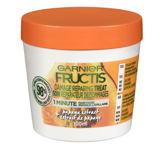 Fructis Damage Repairing Treat Hair Mask, 100 ml, Papaya