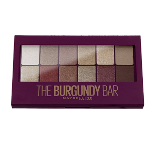 The Burgundy Bar Eye Shadow Palette, 9.6 g