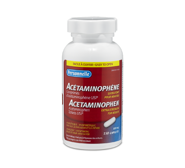 Image of product Personnelle - Acetaminophen 500 mg, 150 units