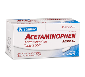 Image of product Personnelle - Acetaminophen 325 mg, 100 units