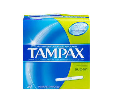 Image 3 of product Tampax - Tampax - Super, 20 units