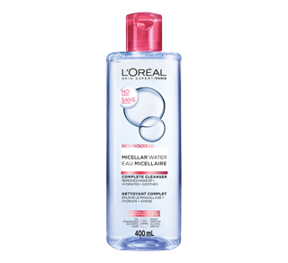 Micellar Water, 400 ml, Normal to Dry Skin