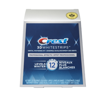 3D White Whitestrips Professional Effects, 20 units
