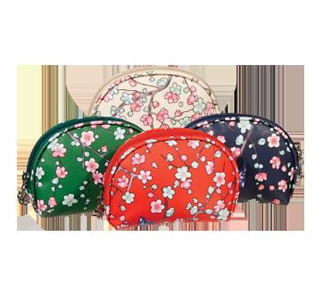 Cosmetic Bag, 1 unit, Flowery