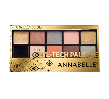Image of product Annabelle - Eye-Tech Eyeshadow Palette, 1 unit