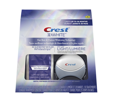 Image 2 of product Crest - 3D White Whitestrips with Light, 10 units