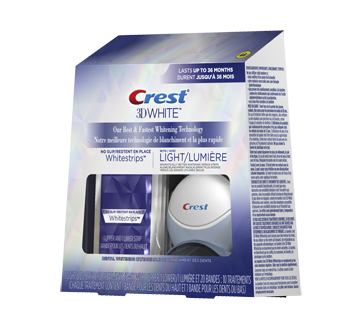 Image 3 of product Crest - 3D White Whitestrips with Light, 10 units