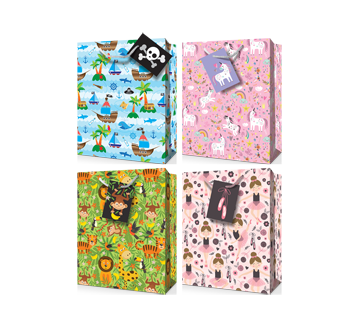 Gift Bag, 1 unit, Juvenile