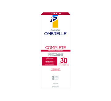 Image 1 of product Ombrelle - Complete Sensitive Advanced, 200 ml, SPF 30